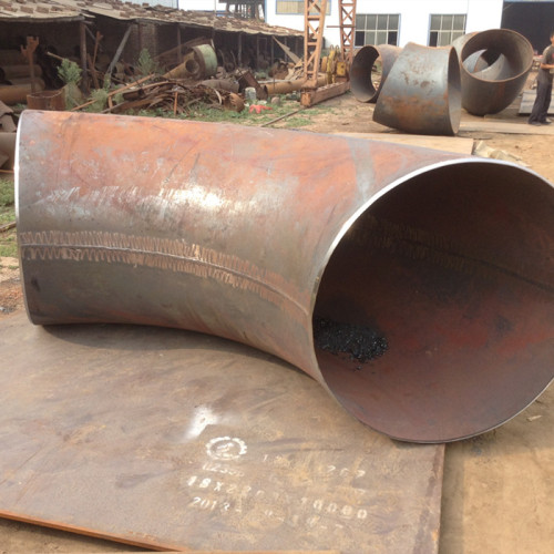 Carbon steel butt weld pipe fittings in factory price