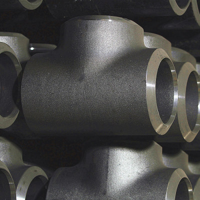 Cangzhou factory manufacture carbon steel equal tees for water supply and drainage