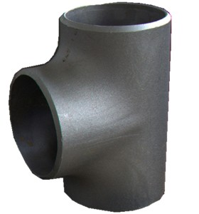 Chinses black iron seamless pipe Tees for pipe connection