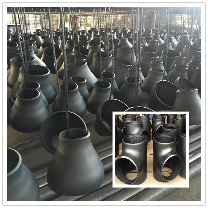 What's the features of  seamless carbon steel tee fittings and pipe reducers?