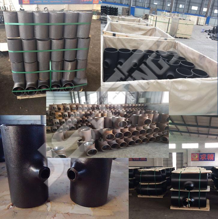 carbon steel pipe tees