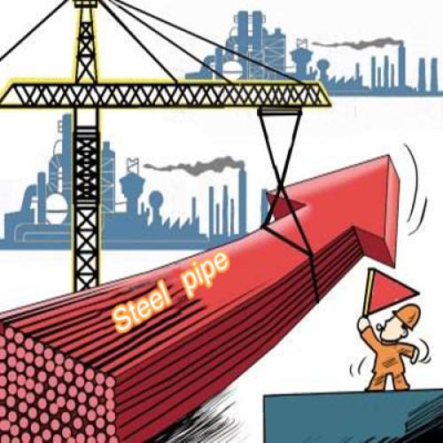 The price of steel pipe is skyrocketing