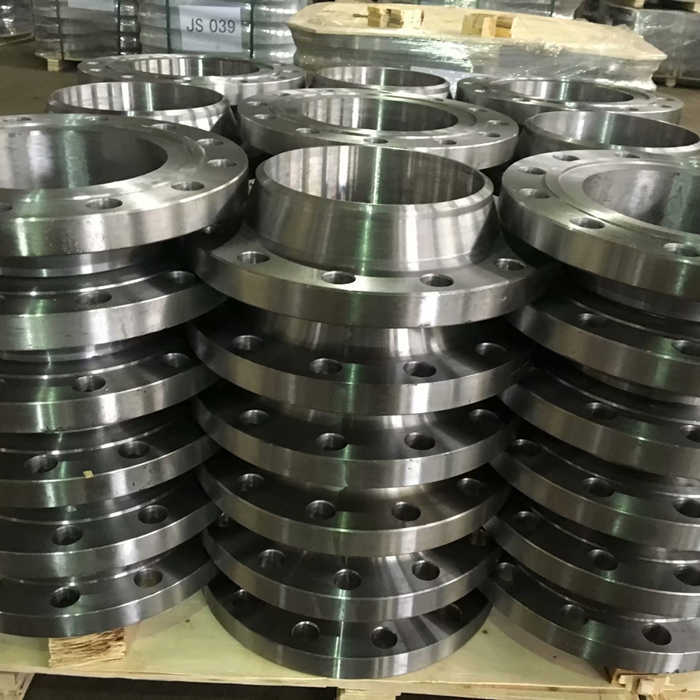 Types of steel pipe flanges