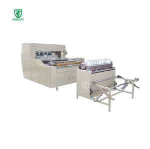 Máquina plegadora de cuchillas con filtro de aire completamente automática