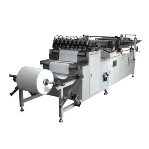 oil and fuel filter type rotary pleating machine