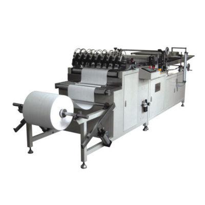 Máquina de plegado rotativa de aceite y filtro de combustible.