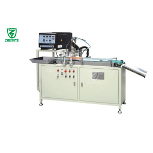 Panel air filter surface gluing machine