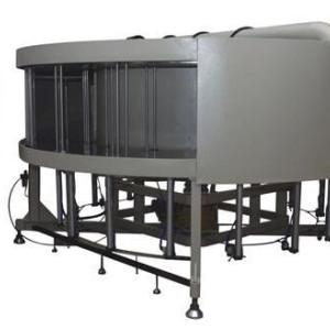 Horno de curado de mesa giratoria de 16 estaciones