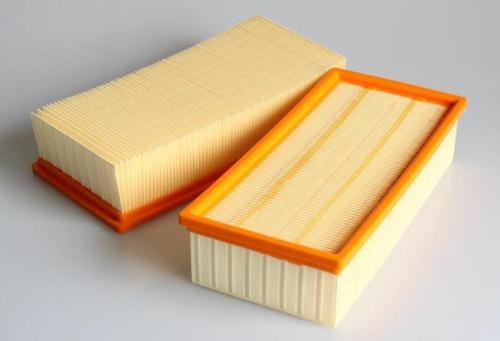 Máquina plegadora de papel de filtro de aire de panel completamente automático