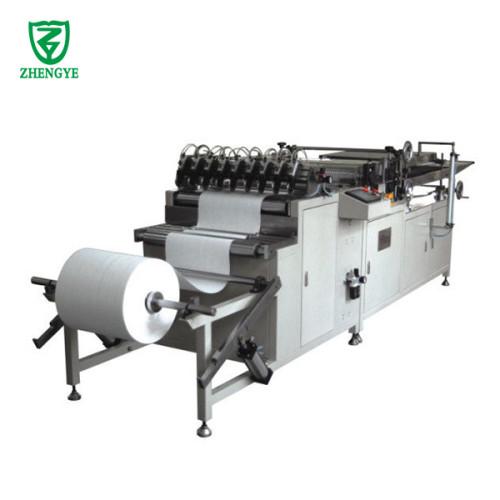 Máquina plegadora de rodillos de filtro de aire completamente automática