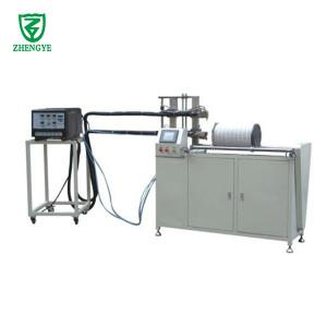 فلتر الهواء الساخن تذوب آلة لف / الأفقي الإلتصاق وآلة خيوط
