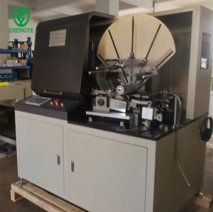 Tubo espiral de malla expandida que forma una máquina para filtros de aire de servicio pesado