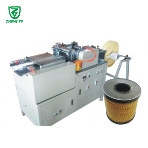 Zig Zag Rotary Filter Paper Pleating Machine