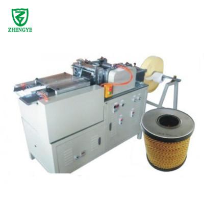 Máquina plegadora de papel de filtro rotativo Zig Zag