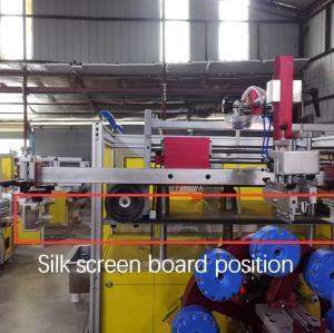 Máquina de impresión de seda completamente automática