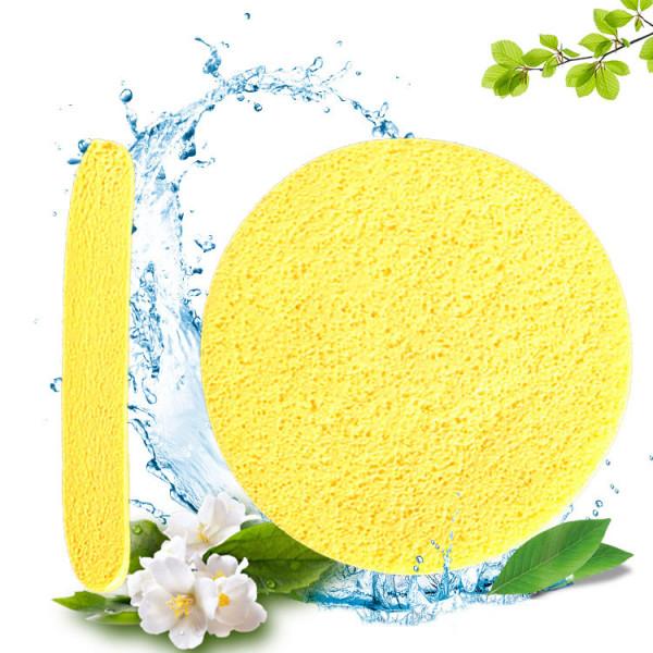 12PCS/bag Compressed Cellulose makeup Facial Cleansing Sponge