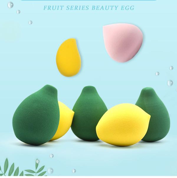 Fruit beauty egg hydrophilic non-latex orange makeup sponge wet and dry makeup tool manufacturers wholesale