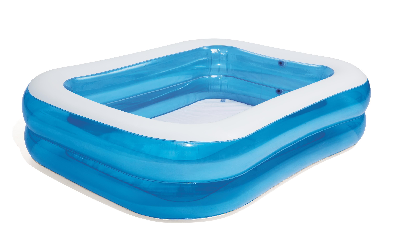 Two-ring rectangular pool