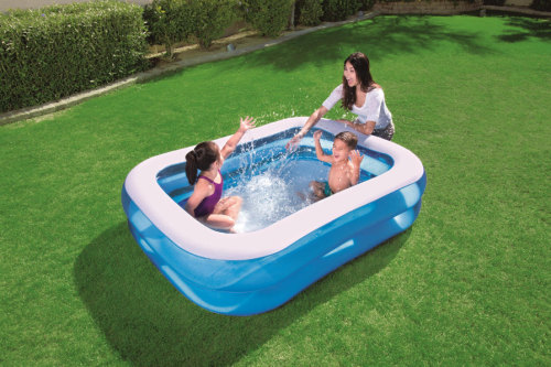 两环矩形泳池
