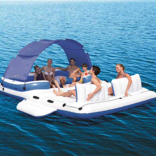 Multi-person floating island