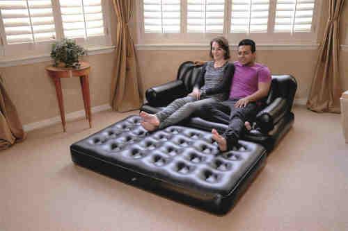 5合1双人沙发床