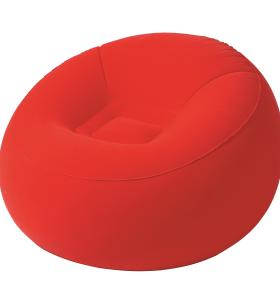 圆形植绒沙发
