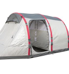 Four-person inflatable tent