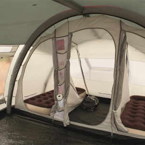 Six-person inflatable tent