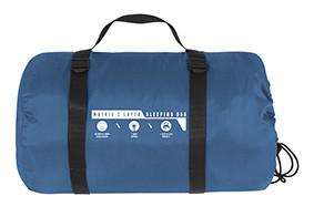Two-layer sleeping bag