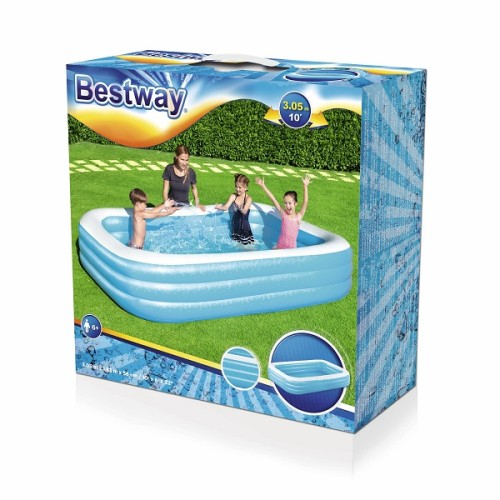 Bestway Rectangular Pool 54009 for child over 6+ ages
