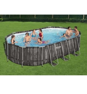 Power Steel Oval Pool Set 5611T applicable to all