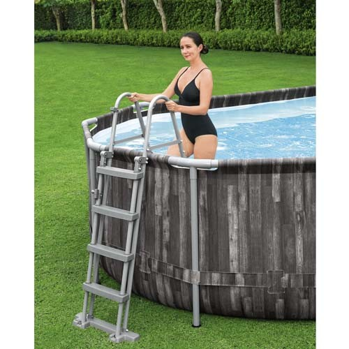 Power Steel Oval Pool Set 5611R applicable to all