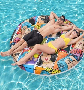Bestway Pop Art Pool Island 43264 applicable for all