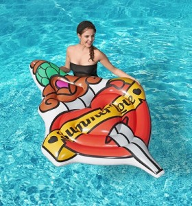 Bestway Summer Love Tattoo Pool Float 43265 applicable for all