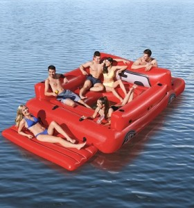 Bestway Giant Red Truck Party Island 43304 applicable for all