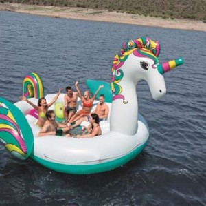 Bestway Giant Unicorn Island 43228 applicable for all