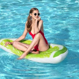 Bestway Tropical Lime Pool Float 43246 applicable for all