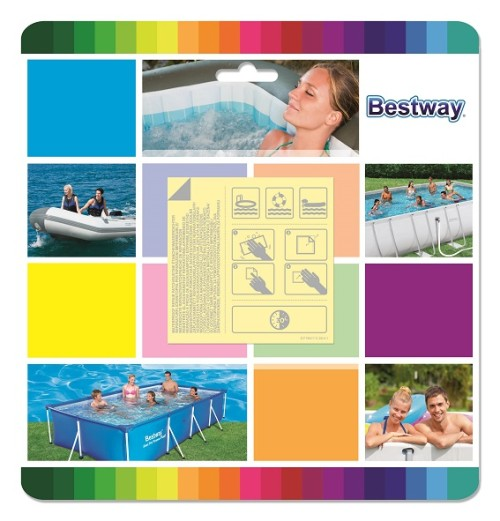 Bestway Underwater Adhesive Repair Patch 62091 applicable for all
