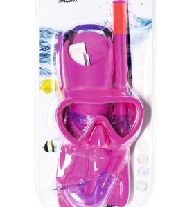 Hydro-Swim Lil' Flapper Snorkel Set 25039 for child ages 3+
