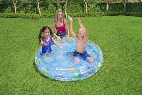 Bestway Deep Dive 3-Ring Pool 51004 for child over 2+ ages
