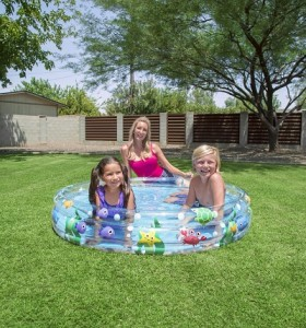 BestwayDeep Dive 3-Ring Pool 51005 for child over 2+ ages