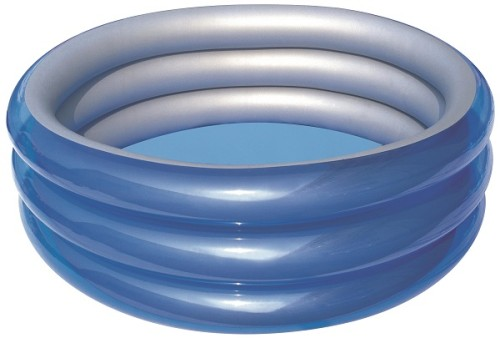 Bestway Big Metallic 3-Ring Pool 51043 for child over 6+ ages