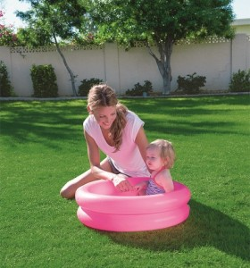 Bestway Round 2-Ring Kiddie Pool 51061 for child over 2+ ages