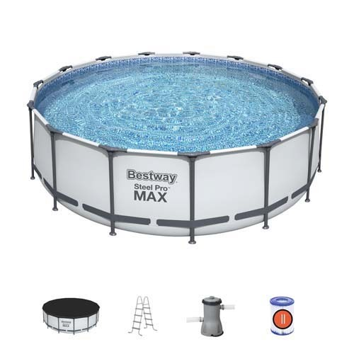Steel Pro MAX Pool Set 56462 applicable for all