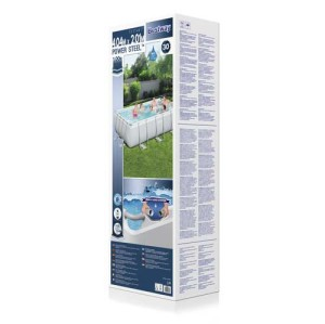 Power Steel Rectangular Pool Set 56457 applicable for all