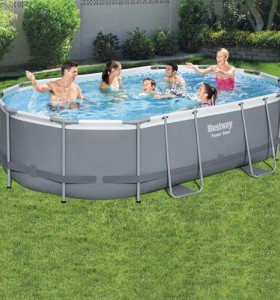 Power Steel Oval Pool Set 56448 applicable for all