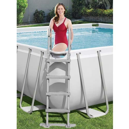 Power Steel Rectangular Pool Set 56465 applicable for all