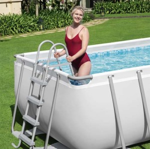 Power Steel Rectangular Pool Set 56466 applicable for all