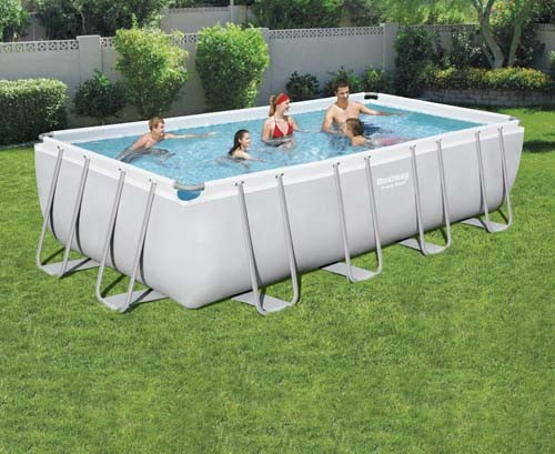 Power Steel Rectangular Pool Set 56474 applicable for all