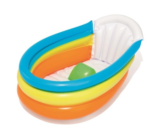 Up, In & Over  Squeaky Clean Inflatable Baby Bath 51134 for child aged 0-2
